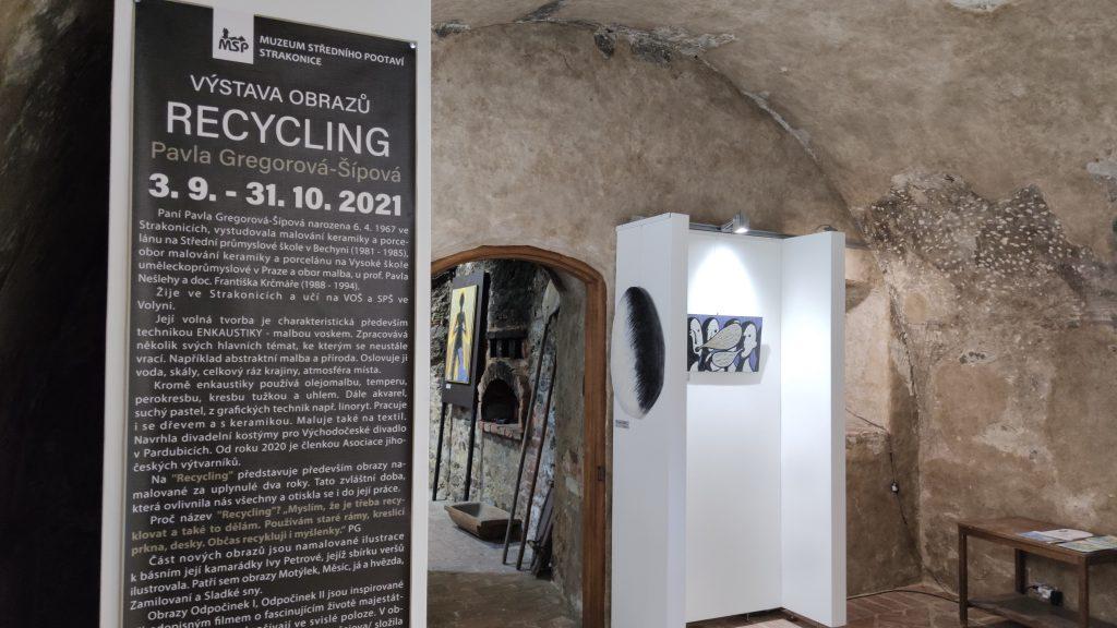 Pavla Gregorová - Recycling   Muzeum středního Pootaví Strakonice