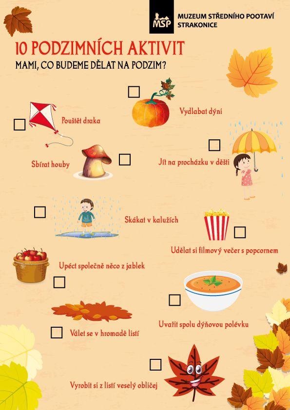 Podzimní aktivity   Muzeum středního Pootaví Strakonice